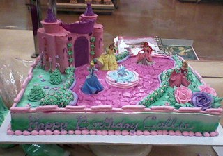 princess castle cake picture